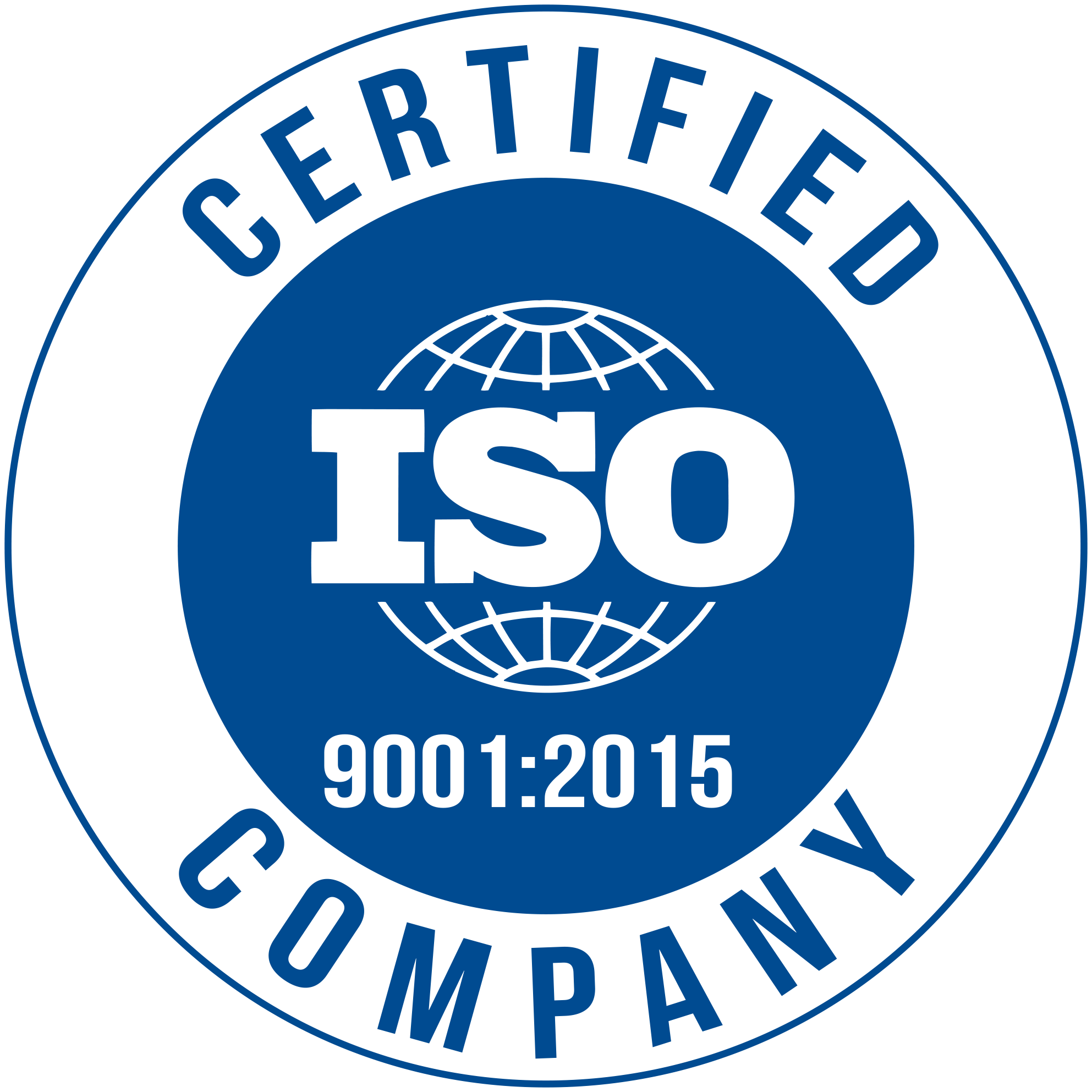 Logo iso q certification